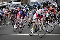 Sykkel<br /> Foto: PhotoNews/Digitalsport<br /> NORWAY ONLY<br /> <br /> 01.04.2015<br /> Koksijde  - Belgium - wielrennen - cycling - radsport - cyclisme -  Alexander Kristoff (Team Katusha) - Raymond Kreder (Orange Cycling Team Roompot)   pictured during Driedaagse van de Panne Stage - 2