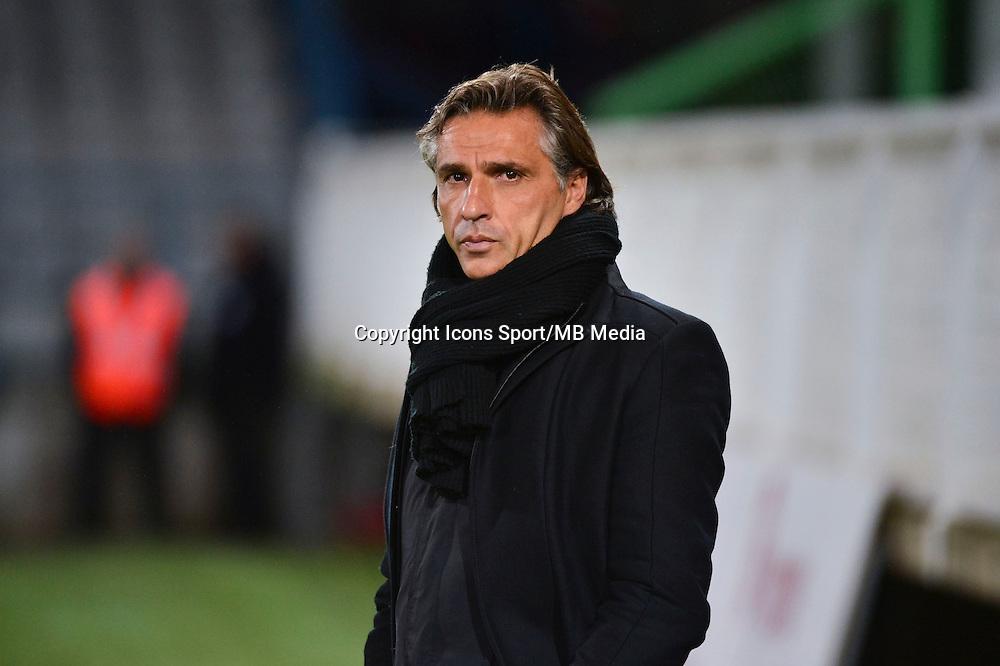 Regis BROUARD   - 19.12.2014 - Auxerre / Niort - 18e journee Ligue 2<br /> Photo : Dave Winter / Icon Sport