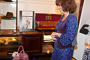 BONNIE MOONEY; BEL MOONEY; , Judith Watt's Dogs in Vogue BOOK LAUNCH. James Purdey and Sons. 57-58 S. Audley St. London.