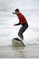 15 June 2013; Conor Murray, British & Irish Lions, during a surfing lesson on Bondi Beach. British & Irish Lions Tour 2013, Surfing at Bondi Beach, Bondi Beach, Sydney, NSW, Australia. Picture credit: Stephen McCarthy / SPORTSFILE