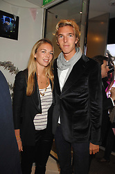 JAMES COOK and his sister VICTORIA COOK at a party to launch jeweller Boodles new store at 178 New Bond Street, London W1 on 26th September 2007.<br /><br />NON EXCLUSIVE - WORLD RIGHTS
