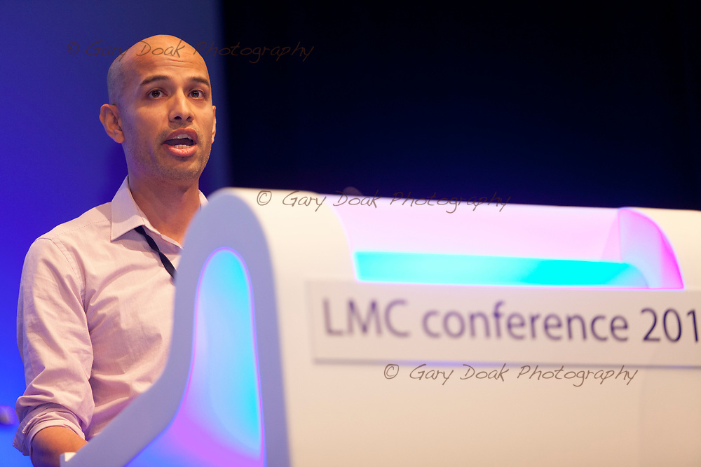 Akash Karki<br /> BMA LMC's Conference<br /> EICC, Edinburgh<br /> <br /> 18th May 2017<br /> <br /> Picture by Gary Doak