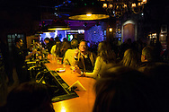 Portugal. Lisbon. speakeasy bar