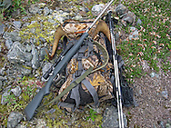 Successful Dall Sheep Hunter's Pack ready for travel.