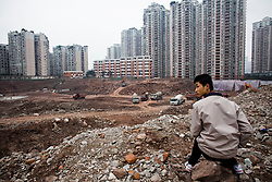Construction is under way  in Chongqing, China, March 3, 2009.