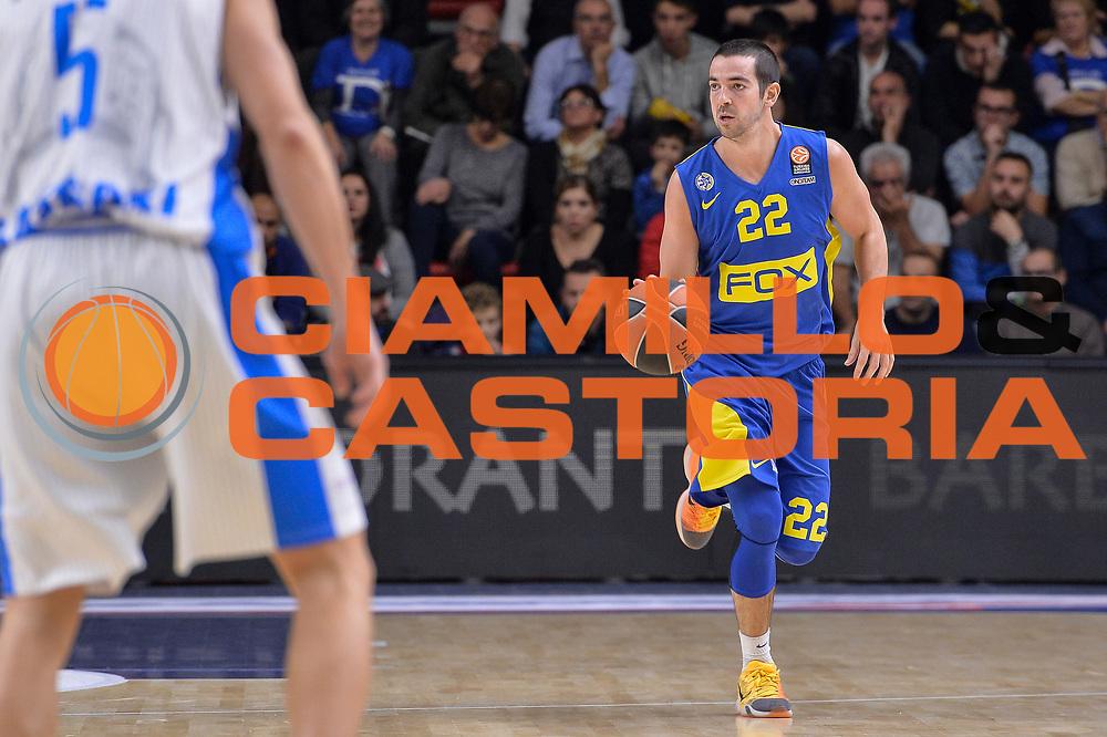 DESCRIZIONE : Eurolega Euroleague 2015/16 Group D Dinamo Banco di Sardegna Sassari - Maccabi Fox Tel Aviv<br /> GIOCATORE : Taylor Rochestie<br /> CATEGORIA : Palleggio<br /> SQUADRA : Maccabi Fox Tel Aviv<br /> EVENTO : Eurolega Euroleague 2015/2016<br /> GARA : Dinamo Banco di Sardegna Sassari - Maccabi Fox Tel Aviv<br /> DATA : 03/12/2015<br /> SPORT : Pallacanestro <br /> AUTORE : Agenzia Ciamillo-Castoria/L.Canu