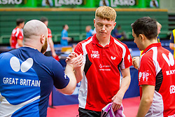 (Team GBR) BAYLEY William John and SHILTON Billy in action during 15th Slovenia Open - Thermana Lasko 2018 Table Tennis for the Disabled, on May 11, 2018 in Dvorana Tri Lilije, Lasko, Slovenia. Photo by Ziga Zupan / Sportida