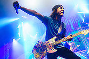 Vic Fuentes/Pierce The Veil performing live at the Warfield concert venue in San Francisco, CA on September 3, 2016