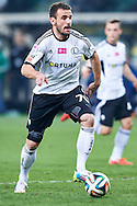 Legia's Orlando Sa controls the ball during T-Mobile ExtraLeague soccer match between Legia Warsaw and Wisla Krakow in Warsaw, Poland.<br /> <br /> Poland, Warsaw, March 15, 2015<br /> <br /> Picture also available in RAW (NEF) or TIFF format on special request.<br /> <br /> For editorial use only. Any commercial or promotional use requires permission.<br /> <br /> Mandatory credit:<br /> Photo by © Adam Nurkiewicz / Mediasport