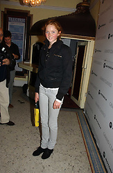 LILY COLE at the Grand Classics screening of Manhattan hosted by Giles Deacon at the Electric Cinema, Portobello Road, London W11 on 13th November 2006.<br />