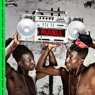Ruxell - Zona Oeste single cover - photo ©Vincent Rosenblatt - Design by Relâmpago (RLMPG) agency - Twin models : Tarso & Tadeu Oliveira Amancio - Rio de Janeiro 2017