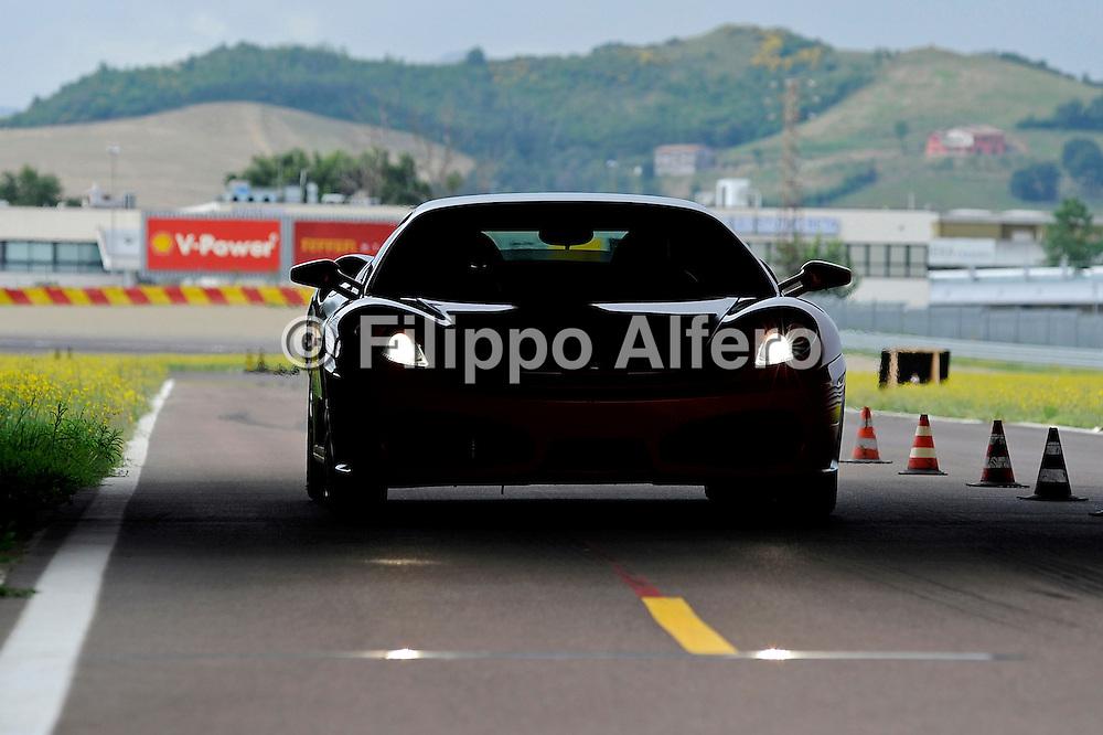 &copy; Ferrari / LaPresse / Filippo Alfero<br /> Fiorano (MO), 14/07/2008<br /> motori<br /> Corso Pilota Shell
