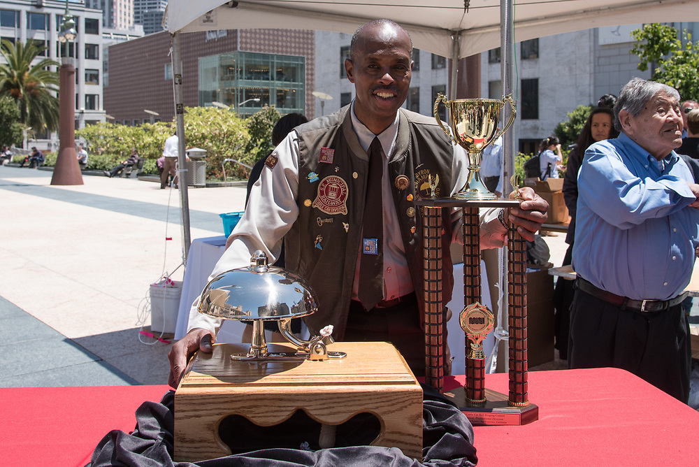 World Champion of the 54th Annual Cable Car Bell Ringing Contest Byron Cobb | July 13, 2017