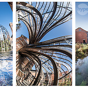 Bombay Sapphire distillery location photography