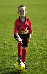 MASCOT FOLKESTON GAME  Kettering Town v Folkestone Rockingham Road,  30th March 2002