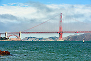 Golden Gate Bridge, San Francisco, suspension bridge, SFO