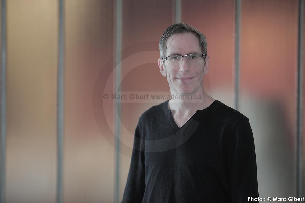 Portrait d'Alain Paradis -  / Montreal / Canada / 2017-04-26, Photo © Marc Gibert / adecom.ca