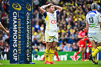Deception Benjamin KAYSER - 02.05.2015 - Clermont / Toulon - Finale European Champions Cup -Twickenham<br />