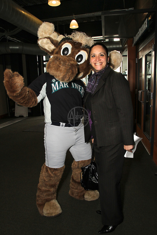 """MPI month education, March 2013.  MPIWSC Monthly Educational Meeting at Safeco Field.  """"Conversation Game Plan"""" presented by Jen Mueller."""