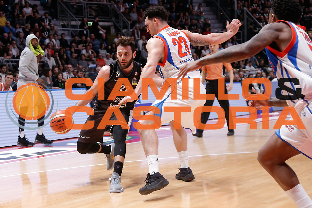 Gentile Stefano<br /> Segafredo Virtus Bologna - Redoctober Cantu<br /> Legabasket Serie A 2017/18<br /> Bologna, 07/04/2018<br /> Foto MarcoBrondi / Ciamillo-Castoria