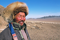 Mongolie. Province de Töv en hiver. // Mongolia Töv province in winter.