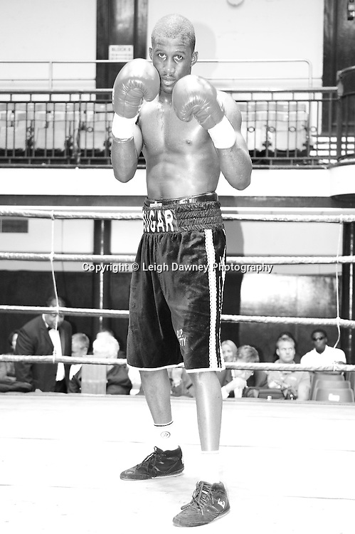 Nathan Weise seen here defeats Matt Scriven at York Hall 4th October 2009. Promoted by David Coldwell,Hayemaker Promotions Credit: ©Leigh Dawney Photography