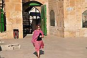 Israel, Jerusalem, Haram esh Sharif (Temple Mount) Morocco Gate