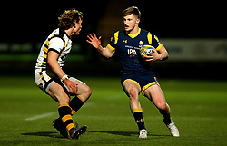 Alex Hearle of Worcester Cavaliers takes on Tom Howe of Wasps A - Mandatory by-line: Robbie Stephenson/JMP - 03/04/2017 - RUGBY - Sixways Stadium - Worcester, England - Worcester Cavaliers v Wasps A - Aviva A League