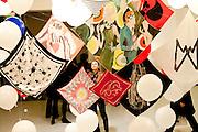 Paris, France. 21 Octobre 2009..Vernissage de l'expo-vente organisée par Mécénat Chirurgie Cardiaque et Maje au Bon Marché Rive Gauche, réunissant les travaux inédits des créateurs invités avec vente exclusive de leurs déclinaisons de foulards. Tous les bénéfices des ventes seront intégralement reversés à Mécénat Chirurgie Cardiaque.