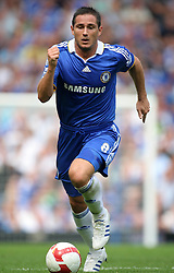 FRANK LAMPARD.CHELSEA FC.CHELSEA V PORTSMOUTH.STAMFORD BRIDGE, LONDON, ENGLAND.17 August 2008.DIU83678..  .WARNING! This Photograph May Only Be Used For Newspaper And/Or Magazine Editorial Purposes..May Not Be Used For, Internet/Online Usage Nor For Publications Involving 1 player, 1 Club Or 1 Competition,.Without Written Authorisation From Football DataCo Ltd..For Any Queries, Please Contact Football DataCo Ltd on +44 (0) 207 864 9121
