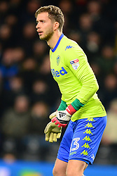 FELIX WIEDWALD GOALKEEPER  LEEDS UNITED, Derby County v Leeds United, Championship League Pride Park Tuesday 21st February 2018, Score 2-2, :Photo Mike Capps