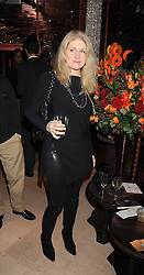 BIRGIT CUNNINGHAM at a party to celebrate the 10th birthday issue of Spears Wealth Management Survey held at Molton House, South Molton Street, London on 25th November 2008.