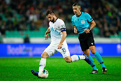 Bojan Jokic  of Slovenia during the 2020 UEFA European Championships group G qualifying match between Slovenia and Latvia at SRC Stozice on November 19, 2019 in Ljubljana, Slovenia. Photo by Vid Ponikvar / Sportida