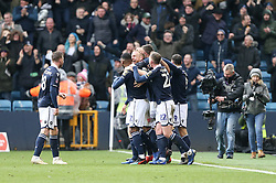 Alex Pearce of Millwall celebrates scoring to make it 1-0 - Mandatory by-line: Arron Gent/JMP - 17/03/2019 - FOOTBALL - The Den - London, England - Millwall v Brighton and Hove Albion - Emirates FA Cup Quarter Final