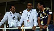 IPL CEO Sundar Raman (C) during match 15 of the Pepsi Indian Premier League 2014 Season between The Kings XI Punjab and the Kolkata Knight Riders held at the Sheikh Zayed Stadium, Abu Dhabi, United Arab Emirates on the 26th April 2014<br /> <br /> Photo by Sandeep Shetty / IPL / SPORTZPICS