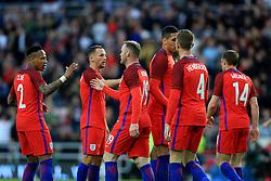 Wayne Rooney of England celebrates his goal with team mates - Mandatory by-line: Matt McNulty/JMP - 27/05/2016 - FOOTBALL - Stadium of Light - Sunderland, United Kingdom - England v Australia - International Friendly