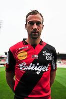 Maxime BACA - 16.09.2014 - Photo officielle Guingamp - Ligue 1 2014/2015<br /> Photo : Philippe Le Brech / Icon Sport