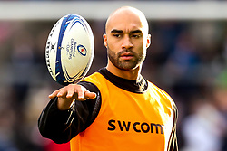 Olly Woodburn of Exeter Chiefs - Mandatory by-line: Robbie Stephenson/JMP - 08/12/2019 - RUGBY - AJ Bell Stadium - Manchester, England - Sale Sharks v Exeter Chiefs - Heineken Champions Cup