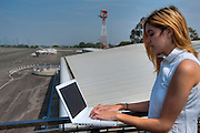 Teenager lap Hi Tech Lifestyle Communicating, Texting, Email