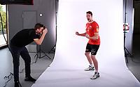 Volleyball 1. Bundesliga  Saison 2018/2019  Media Day Fotoshooting  TV Rottenburg  07.09.2018 Mitchel Penning (re)
