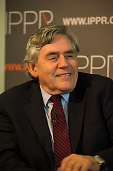 Pictured: Gordon Brown<br /> <br /> Gordon Brown delivered and address on Britain's future relationship with the European Union in Edinburgh today which is the first in a UK-wide series hosted by IPPR, Institute for Public Policy Research<br /> <br /> Ger Harley   EEm 29 June 2016
