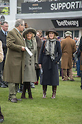ROBERT WALEY-COHEN; THE DUCHESS OF CORNWALL, The Cheltenham Festival Ladies Day. Cheltenham Spa. 11 March 2015