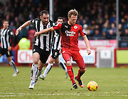 Crawley Town Forward Lee Barnard during the Sky Bet League 2 match between Crawley Town and Plymouth Argyle at the Checkatrade.com Stadium, Crawley, England on 20 February 2016. Photo by David Charbit.