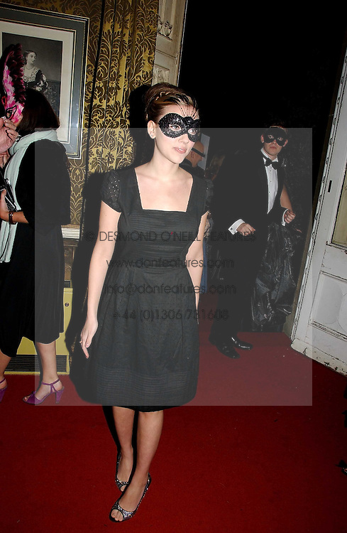 SCARLETT JOHANSSON at the 2006 Moet & Chandon Fashion Tribute in honour of photographer Nick Knight, held at Strawberry Hill House, Twickenham, Middlesex on 24th October 2006.<br /><br />NON EXCLUSIVE - WORLD RIGHTS