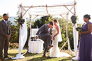 The wedding of Jessica Brandi and Mark Meister on Saturday, Sept. 5 at SkiEsta in Newry, Maine.