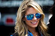 May 2-4, 2014: Laguna Seca Raceway. Lamborghini grid girl