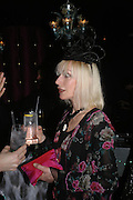 Virginia Bates. party given by Daphne Guinness for Christian Louboutin  after the opening of his new shopt.  Baglione Hotel. 16 March 2004.  ONE TIME USE ONLY - DO NOT ARCHIVE  © Copyright Photograph by Dafydd Jones 66 Stockwell Park Rd. London SW9 0DA Tel 020 7733 0108 www.dafjones.com