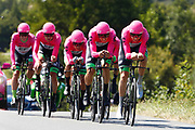 Team EF Education First - Drapac during the Tour de France 2018, Stage 3, Team Time Trial, Cholet-Cholet (35 km) on July 9th, 2018 - Photo Luca Bettini/ BettiniPhoto / ProSportsImages / DPPI