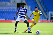 Reading midfielder Ovie Ejaria (14) during the EFL Sky Bet Championship match between Reading and Barnsley at the Madejski Stadium, Reading, England on 19 September 2020.