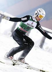 February 8, 2019 - Lahti, Finland - Andreas Schuler participates in FIS Ski Jumping World Cup Large Hill Individual training at Lahti Ski Games in Lahti, Finland on 8 February 2019. (Credit Image: © Antti Yrjonen/NurPhoto via ZUMA Press)